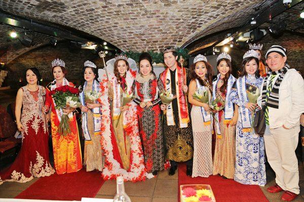 Mỹ phẩm GONY tài trợ cuộc thi HOA HẬU - NAM VƯƠNG tại ANH QUỐC