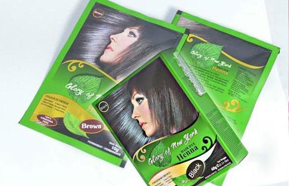 Thuốc nhuộm tóc bạc Gony Henna